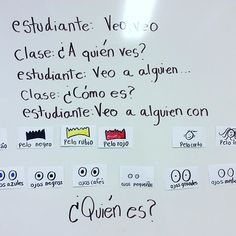 Warm up activity for second graders #teachersfollowteachers #spanishrocks #spanishteacher