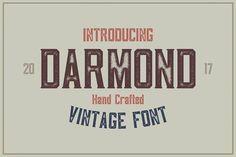 Darmond Font -30% INTRO SALE by BART.Co Design on @creativemarket
