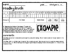 1000 ideas about reading level chart on pinterest
