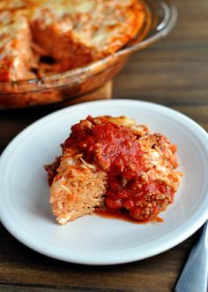 Mels Kitchen Cafe | Spaghetti Pie {My Family's Favorite Dinner}