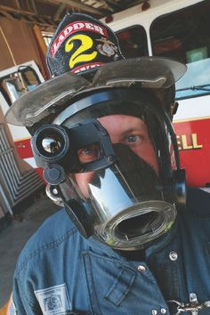 Inside a burning building, the smoke often gets so thick and oppressive that firefighters can't see their hands if they wave them in front of their facemasks.