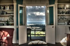 The view from inside the ruin you can rent this from The Landmark trust we had a lovely midweek break there last week beautiful views from the door Unusual Hotels, England And Scotland, North Yorkshire, Stunning View, Beautiful, About Uk, Pavilion, Castle, Adventure