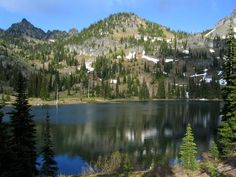 Upper Crystal Lake, 6 miles, 2300 gain, 1.5 hrs from Seattle.