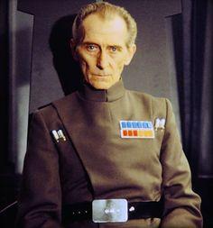 Peter Cushing as Grand Moff Tarkin in the Star Wars film series. Saga, Star Wars I, Noter Dame, Imperial Officer, Peter Cushing, War Film, Episode Iv, Star Wars Poster, A New Hope