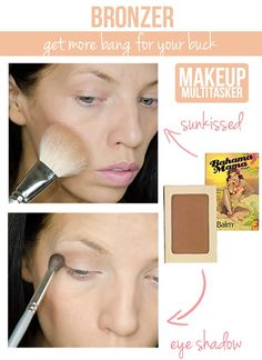 Stretch the use of your bronzer!