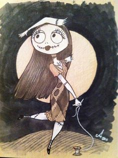 Sally by Amy Mebberson - The Nightmare Before Christmas