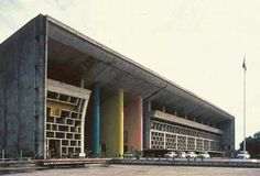Le Corbusier at Chandigarh