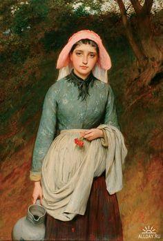 Английский художник Charles Sillem Lidderdale
