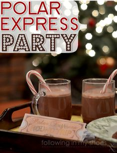 polar express party plan | Planning Holiday Parties For Kids {and a Breville Giveaway ...
