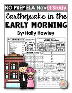This packet is PRINT and GO ready! No time spent laminating, cutting, or setting up. Print and your kids are ready to use engaging ELA activities that follow K-2 ELA standards with the Magic Tree House series: Earthquake in the Early Morning! This set is perfect for small groups, centers, homework, morning work, or part of your novel study! Morning Work, Early Morning, Magic Tree House Lessons, Text Dependent Questions, Grammar Activities, Magic Treehouse, Independent Reading, Text Features, Chapter Books