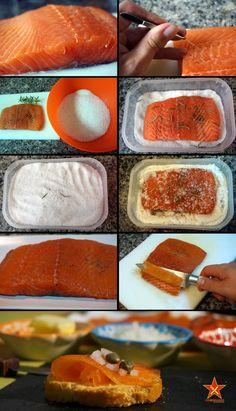 Salmón marinado https://www.pinterest.com/marisolbad/pescados-y-mariscos/