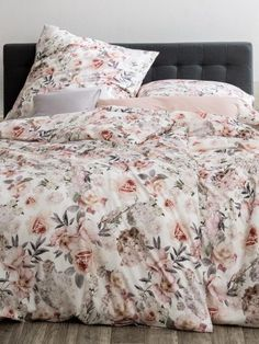 Estella pościel mako-jersey Sarina azalee 6742 155x200 - Dommania.pl Comforters, Blanket, Bed, Home, Creature Comforts, Quilts, Stream Bed, Ad Home, Blankets