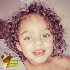Paizley - 6 Years • Dad: African American • Mom: Caucasian ♥️ FOLLOW @BEAUTIFULMIXEDKIDS http://instagram.com/beautifulmixedkids