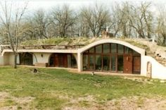 An Earth-bermed Passive Solar Home like the one we want to build