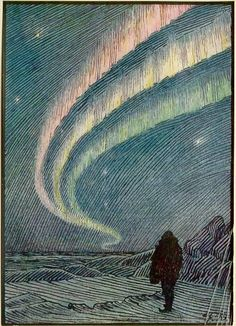 Frontispiece from In Northern Mists (1912), by Fridtjof Nansen. Used this for a SVS catalog cover one year...