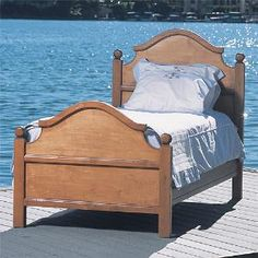 Cody Bed in Chateau Finish - Free Shipping! $2,997.00 (USD).  Product in photo is from www.wellappointedhouse.com