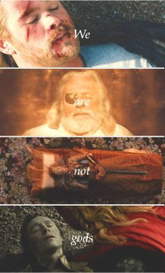 We are not Gods via peggycxrter tumblr