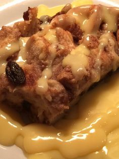 Bread and Butter Pudding cooked in the slow cooker