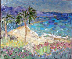 Kitchen Mosaics, by mosaic artist Cynthia Fisher - B I G� B A N G� M O S A I C S