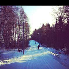 Winter-wonderland, Östersund - Sweden...