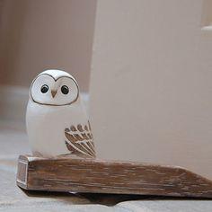 Door Wedge Owl by Velvet Brown