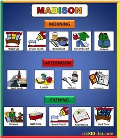 Great website for ordering schedule boards and all the magnets that are needed for either home or classroom.