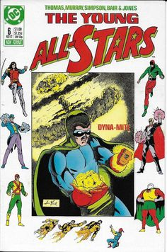 67a8f78782b9 Young All-Stars   6 DC Comics -The War Within! Roy   Dann Thomas Writers