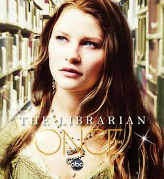 Once Upon a Time 2011-  [TV series].  Lacey is the librarian in the small enchanted town, and is Belle in the enchanted forest.
