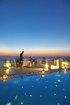 Above Blue Suites, Santorini, Greece