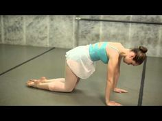 How to Correct Flat Feet in Ballet : Ballet Tips - YouTube