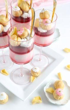 White Rose Tea and Coconut Milk Panna Cotta Recipe