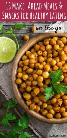 16 make-ahead meals and snacks for healthy eating on the go   Clean eating and healthy living   http://avocadu.com/16-make-ahead-meals-and-snacks-for-healthy-eating-on-the-go/