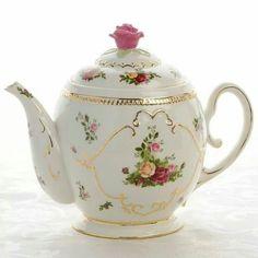 Rose top teapot