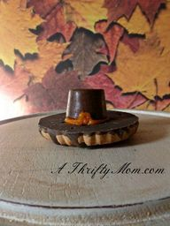 pilgrim hat cookies,