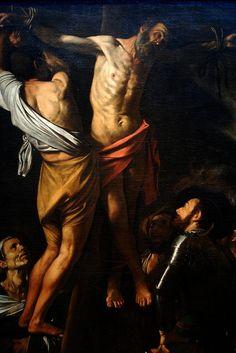 The Crucifixion of Saint Andrew by Michelangelo Merisi da Caravaggio