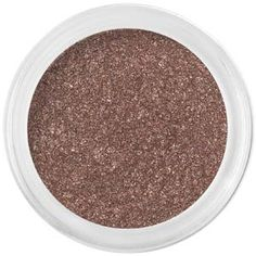 Bare Minerals' Queen Tiffany eyeshadow. Kind of like a sparkly hot chocolate. a good dramatic brown that pairs beautifully with Queen Phyllis :) $13