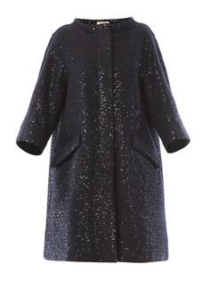 Nina Ricci wool sequined coat £2,108