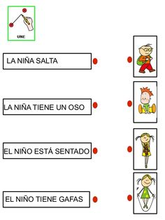 Lectura comprensiva 3 by Nieves Lopez Pons via slideshare Spanish Classroom, Teaching Spanish, Teaching Math, Art Therapy Activities, Kindergarten Activities, Learning Activities, Speech Language Therapy, Speech And Language, Speech Therapy