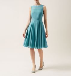 Blue Abigale Dress | Occasion Dresses | Dresses | Hobbs USA