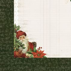 Kaisercraft - Letters to Santa Collection - Christmas - 12 x 12 Double Sided Paper - Dear Santa