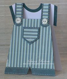 Little Boy Overalls by Rainy Day Creations