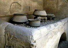 Another stove top in Pompeii Piano di cottura