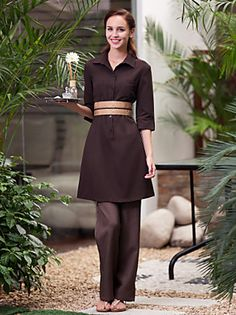uniformes spa vestir spa cuello mao manga corta de las mujeres 2016 - $56.99