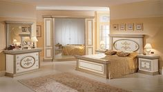 Luxury bedroom and art: an incursion in the history of art while admiring Arredoclassic bedrooms