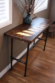 Console table by Tom Spivak Jr.