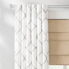 Product Image for Bombay™ Garrison Rod Pocket/Back Tab Window Curtain Panel 2 out of 2