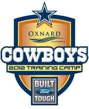 dallas cowboys training camp 2012