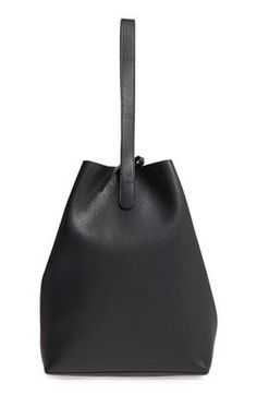 Creatures of Comfort Medium Apple Pebbled Leather Bag