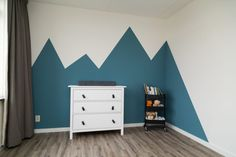 Baby Boy Rooms, Baby Bedroom, Baby Room Decor, Bedroom Wall, Girls Bedroom, Kids Bedroom Paint, Girl Bedroom Designs, Girl Room, Home Decor