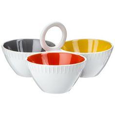 Threshold™ Stoneware Dip Bowls - Multicolored